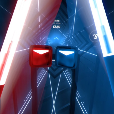 Beat Saber Campaign Track on PlayStation 4