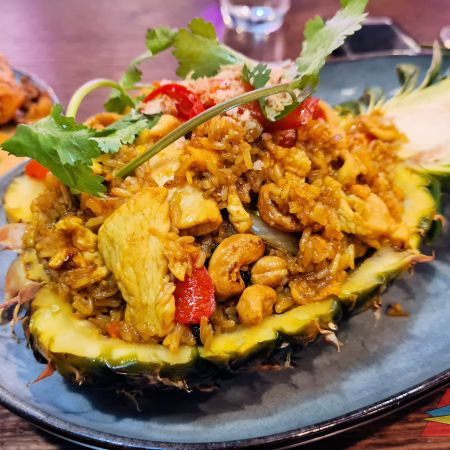 Miss Ping's The Glen pineapple fried rice